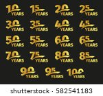 Isolated Golden Color Numbers...