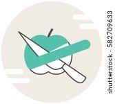 peeling apple   infographic...