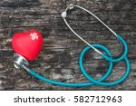 healthcare insurance and world... | Shutterstock . vector #582712963