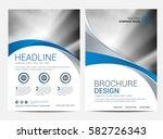 brochure template flyer design... | Shutterstock .eps vector #582726343