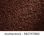 coffee beans texture | Shutterstock . vector #582747883