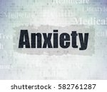 healthcare concept  painted...   Shutterstock . vector #582761287
