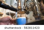 making coffee | Shutterstock . vector #582811423