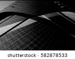 modern glass architecture.... | Shutterstock . vector #582878533