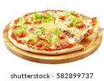 Pizza Carbonara  Mozzarella ...
