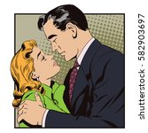 stock illustration. people in... | Shutterstock .eps vector #582903697