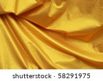 yellow fabric in thailand | Shutterstock . vector #58291975