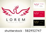 bird logo | Shutterstock .eps vector #582952747