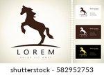 horse logo | Shutterstock .eps vector #582952753