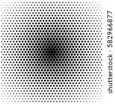 abstract halftone gradient... | Shutterstock .eps vector #582966877