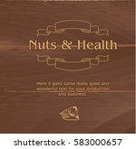 vector illustration of brown... | Shutterstock .eps vector #583000657