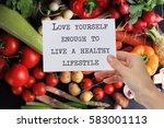 motivation inspirational quote... | Shutterstock . vector #583001113