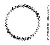 distress edge overlay texture.... | Shutterstock .eps vector #583082743