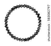distress edge overlay texture.... | Shutterstock .eps vector #583082797