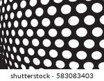 abstract overlay dotted grunge... | Shutterstock .eps vector #583083403