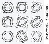 distress stamp overlay thin... | Shutterstock .eps vector #583088083