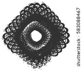 distressed bold postal stamp... | Shutterstock .eps vector #583088467