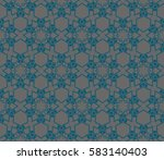 abstract repeat backdrop.... | Shutterstock . vector #583140403