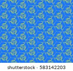 lace seamless pattern with... | Shutterstock . vector #583142203