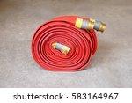 fire hose | Shutterstock . vector #583164967