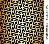 seamless linear pattern with... | Shutterstock .eps vector #583167493