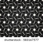 abstract geometric pattern with ... | Shutterstock .eps vector #583167577