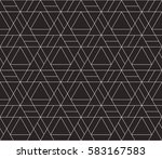 seamless linear pattern with... | Shutterstock .eps vector #583167583