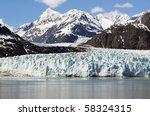 Scenery Of Glacier Bay In Alaska