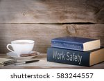 work safety and safety... | Shutterstock . vector #583244557