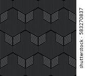 black and white pattern... | Shutterstock .eps vector #583270837