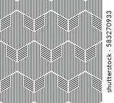 black and white pattern... | Shutterstock .eps vector #583270933