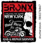 vintage motorcycle skull poster ...