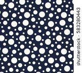 vector seamless pattern of... | Shutterstock .eps vector #583280443