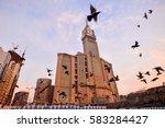 mecca  saudi arabia  jan 8 ... | Shutterstock . vector #583284427