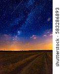 Milky Way Over Stubble Field...