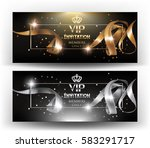 vip invitation banners with