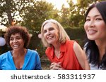 mature female friends... | Shutterstock . vector #583311937