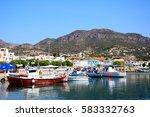 makrigialos  crete   september... | Shutterstock . vector #583332763