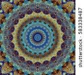 seamless background pattern.... | Shutterstock .eps vector #583338487