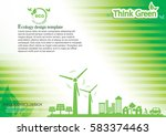 ecology connection  concept...   Shutterstock .eps vector #583374463
