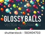 Colorful Glossy Balls...
