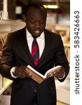 african entrepreneur   Shutterstock . vector #583426663