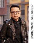 asian man    Shutterstock . vector #583430317