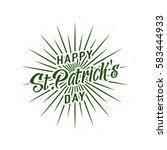 vector illustration of happy... | Shutterstock .eps vector #583444933
