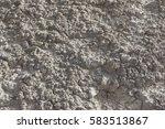 lumpy arid dried white textured ... | Shutterstock . vector #583513867
