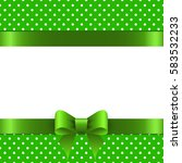 background st. patrick with... | Shutterstock .eps vector #583532233