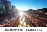 speed motion abstract... | Shutterstock . vector #583569373