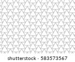 geometric pattern of triangle... | Shutterstock .eps vector #583573567