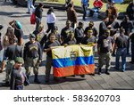 quito  ecuador   december 21st  ...   Shutterstock . vector #583620703
