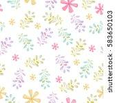 spring texture | Shutterstock . vector #583650103